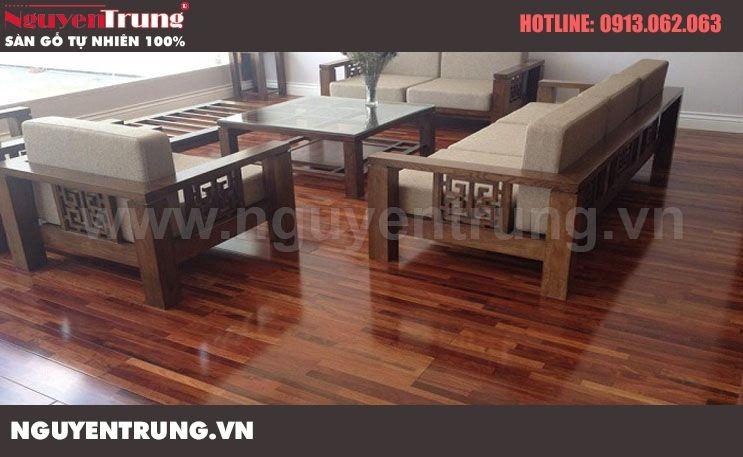 Sàn gỗ Giáng Hương 15 x 90 x 600