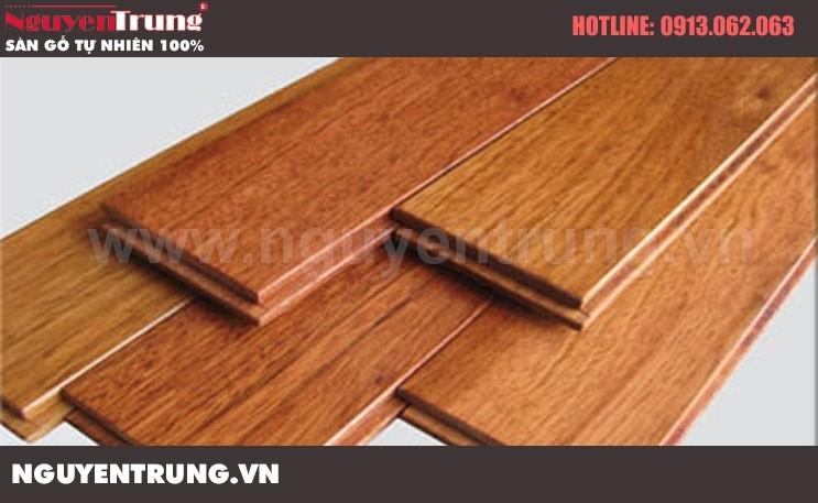 Sàn gỗ Giáng Hương Lào 15 x 90 x 750