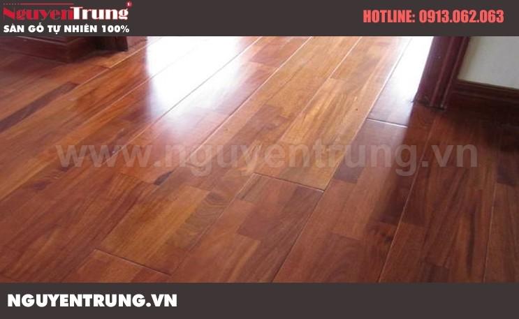 Sàn gỗ căm xe 15*90*750