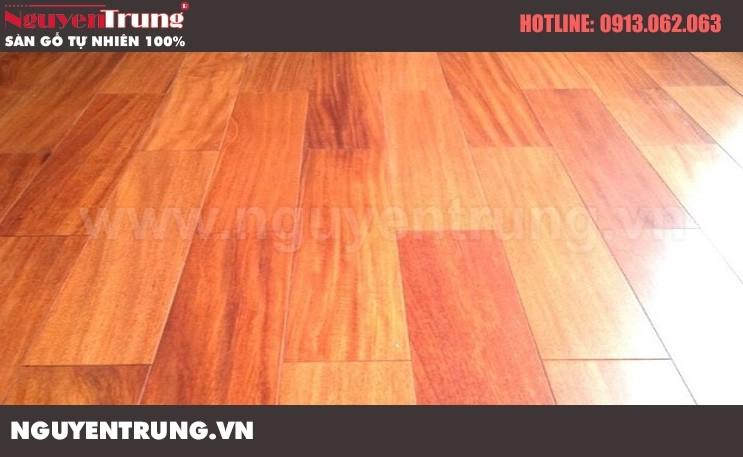 Sàn gỗ căm xe 15*90*600