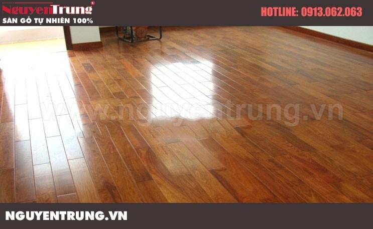 Sàn gỗ Giáng Hương Lào 18 x 120 x 600
