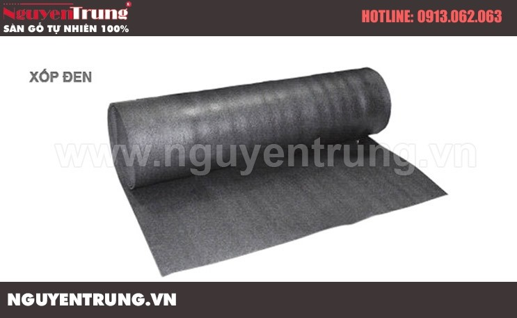 Xốp đen lót sàn