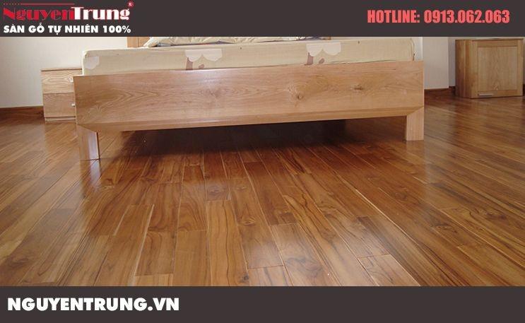 Sàn gỗ teak 18*120*900