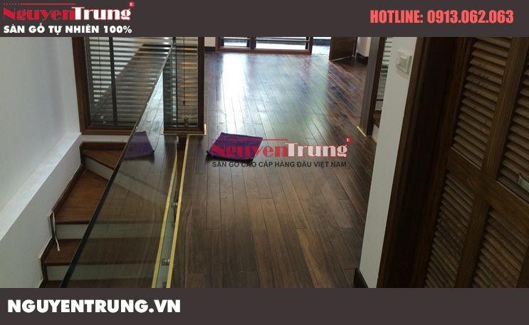 Thi công sàn gỗ Chiêu Liêu tại Văn Phú Hà Đông