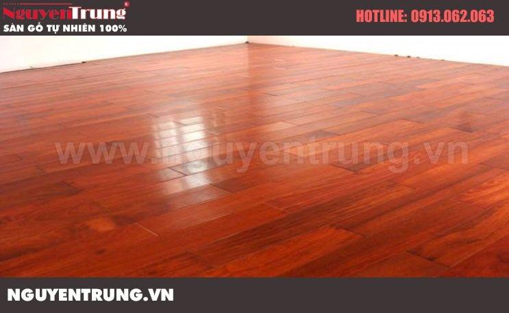 Sàn gỗ Hương Nam Phi 15 x 90 x 600
