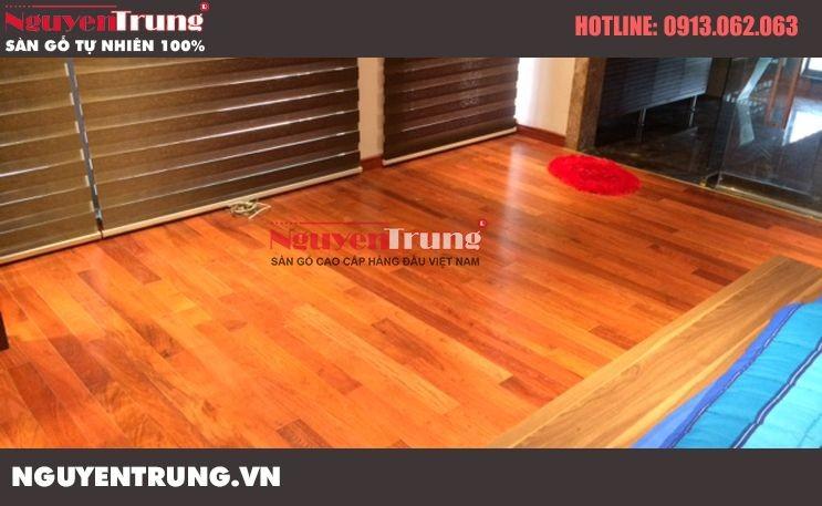 Sàn gỗ lim Lào 15*90*600