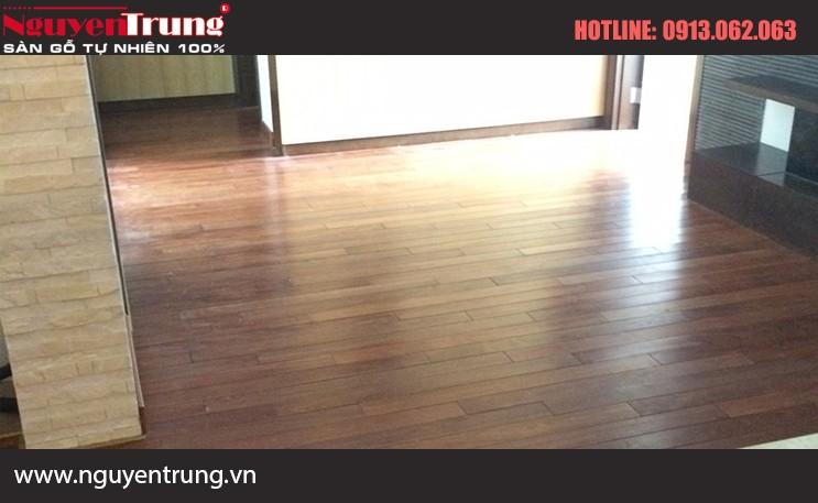 Sàn gỗ căm xe 18*120*600