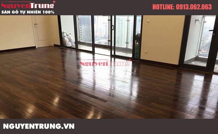 Công trình sàn gỗ Chiu Liu tại chung cư cao cấp MANDARIN GARDEN
