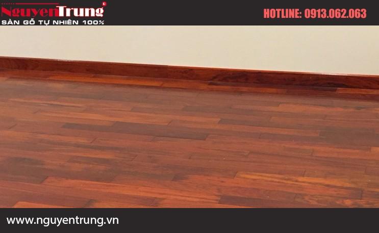 Công trình sàn gỗ Hương Nam Phi tại Lạng Sơn
