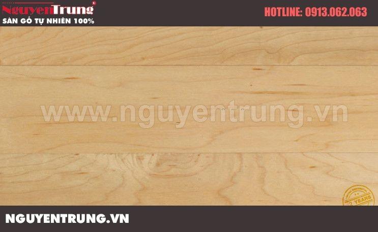 Sàn gỗ tự nhiên Maple