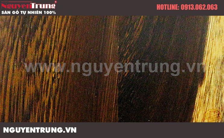 Sàn gỗ tự nhiên Muồng Đen
