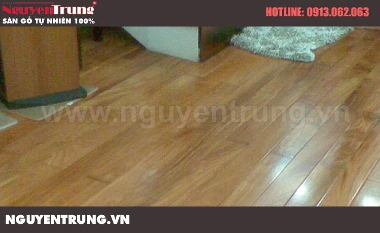 Hình ảnh lắp đặt sàn gỗ 2