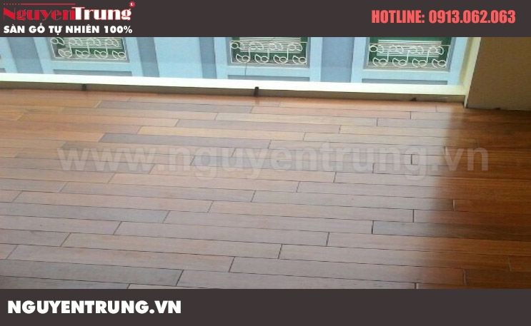 Hình ảnh lắp đặt sàn gỗ công trình