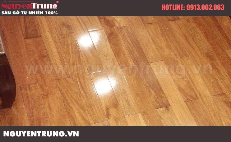 Hình ảnh công trình sàn gỗ
