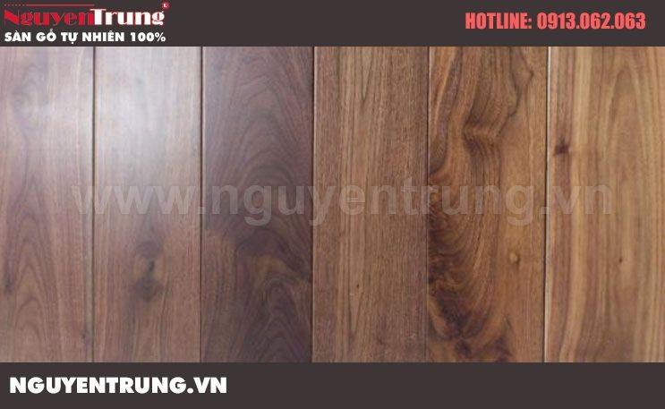 Sàn gỗ Óc Chó 18x120x900
