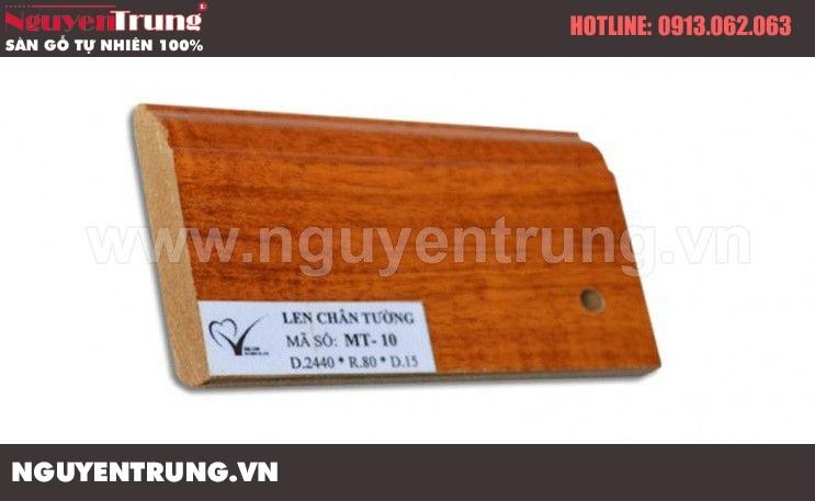 Len chân tường sàn gỗ MT 10
