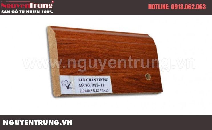 Len chân tường sàn gỗ MT 11