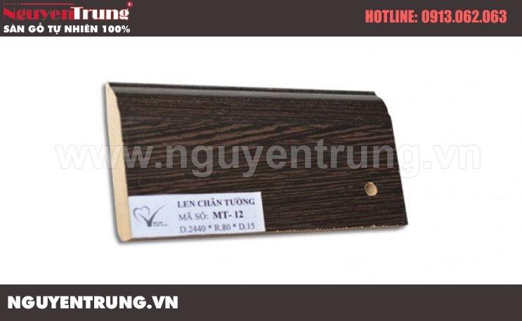 Len chân tường sàn gỗ MT 12