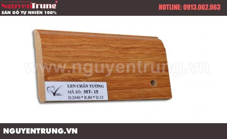 Len chân tường sàn gỗ MT 15