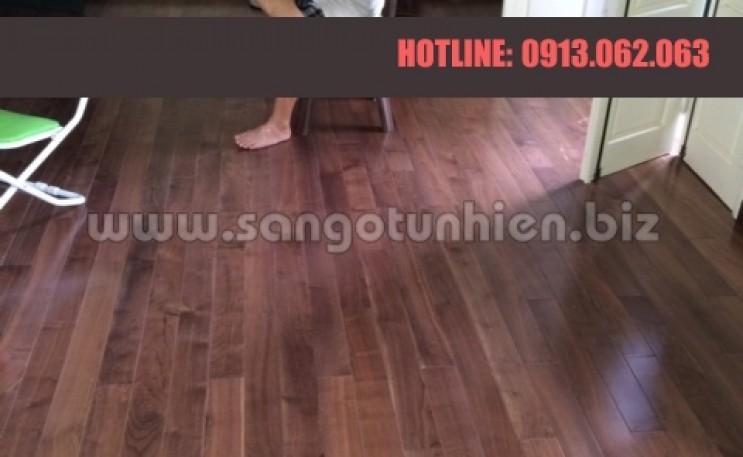 Lát sàn gỗ Óc Chó Mỹ