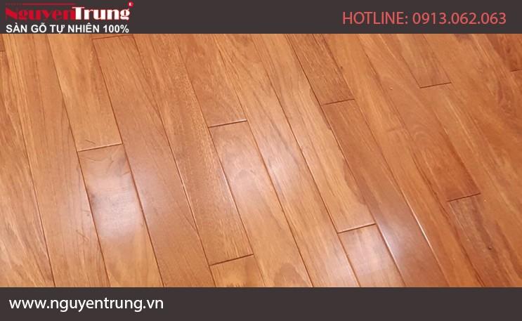 Sàn gỗ Gõ Nam phi 18*120*900