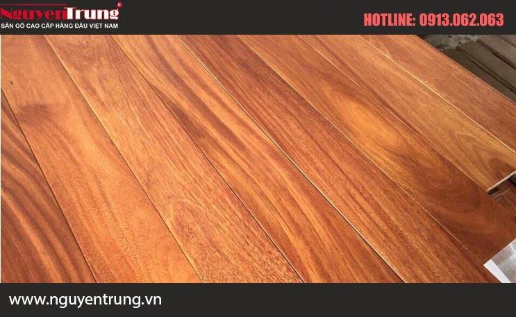 Sàn gỗ Gõ Nam phi 15*90*600