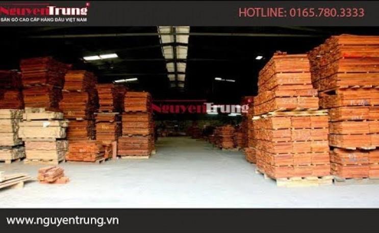 Nhà máy sản xuất sàn gỗ Nguyên Trung