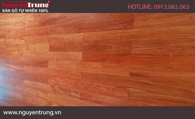 Sàn gỗ Hương Đá Nam Phi 15 x 90 x 450
