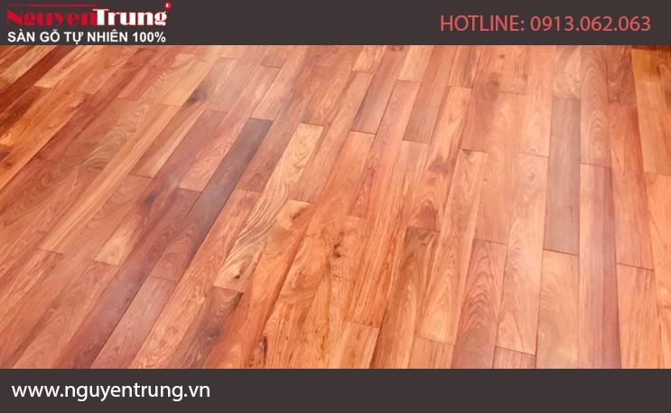Sàn gỗ giáng hương 18 x 120 x 1050