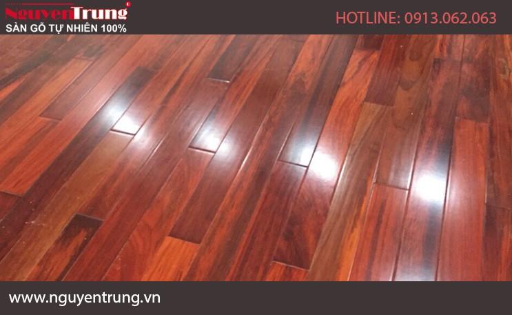 Sàn gỗ Hương Nam Phi 18 x 120 x 750