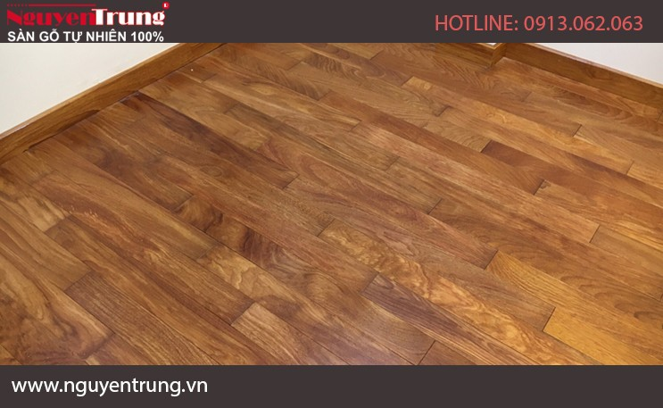 Sàn gỗ Lim Nam Phi – 18x90x900