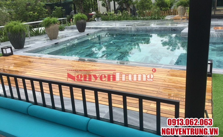 Sàn gỗ tự nhiên ngoài trời 02