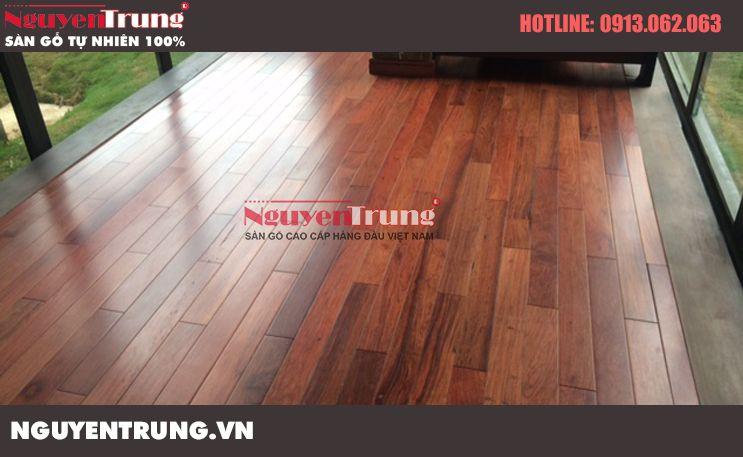 Sàn gỗ tự nhiên hợp với khí hậu miền bắc
